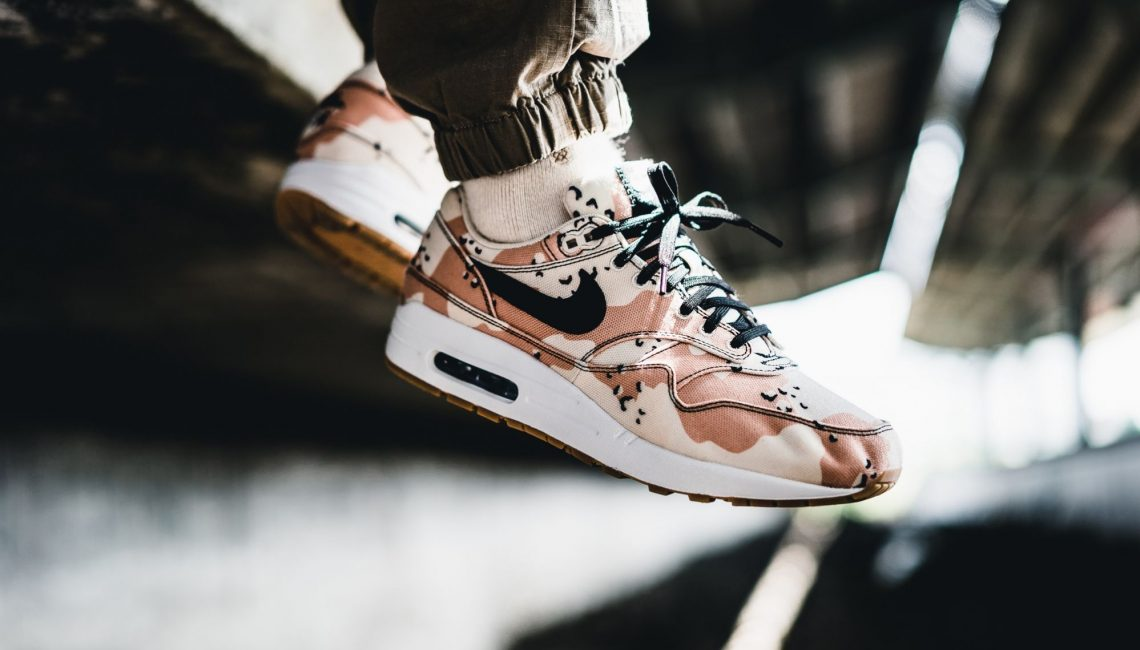 a540ffe454 Beach Camo is a welcomed addition to any Air Max sneaker, especially the Air  Max 1. When combined with a canvas constructed upper and a gum bottom  outsole, ...