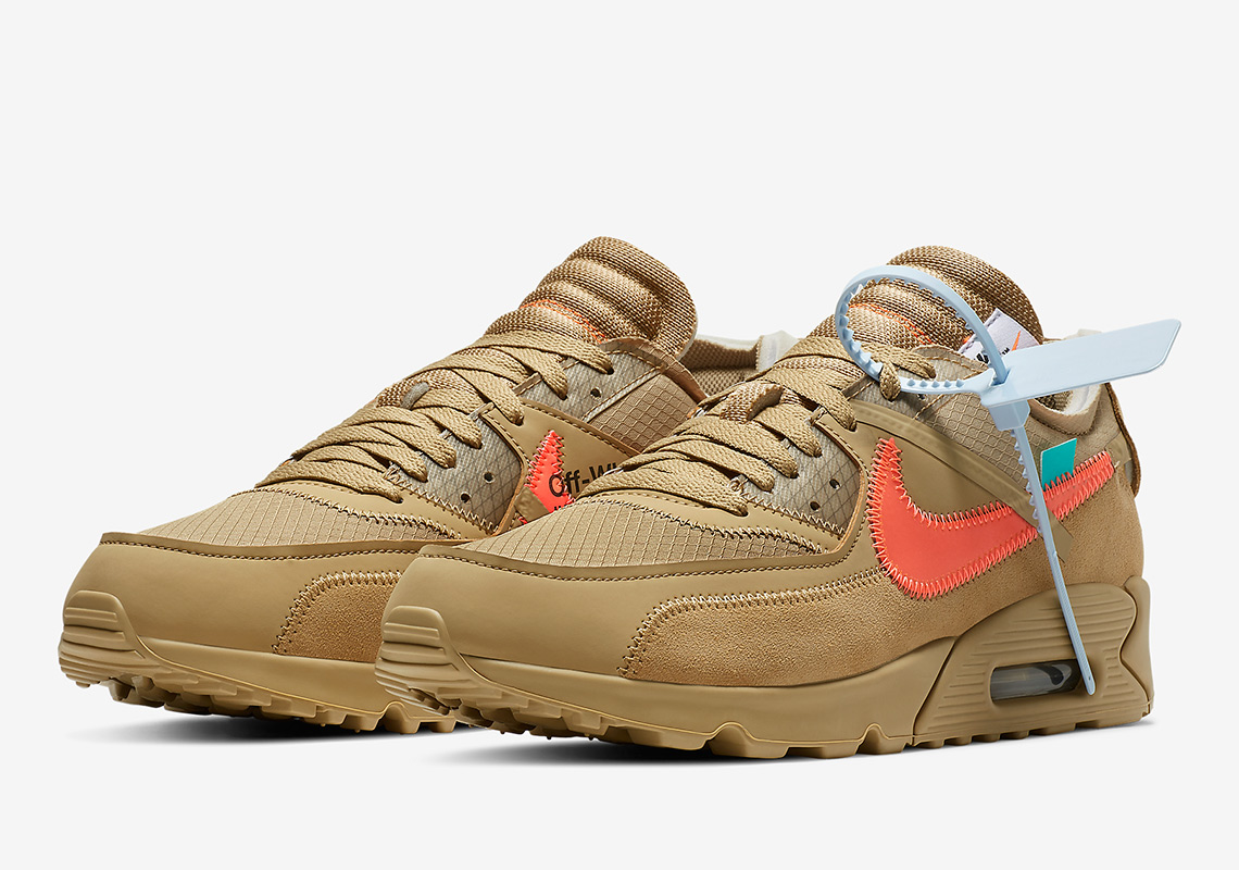 "huge discount ca238 54ff3 Off-White x Nike Air Max 90 ""Desert Ore"""