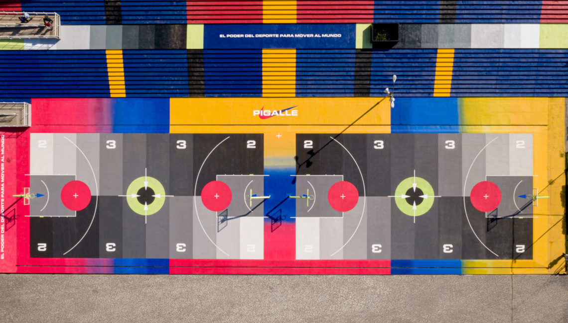 barco Eficiente carpeta  Mexico City gets its own Pigalle basketball court by Stephane Ashpool and  Nike | sneakerize.gr